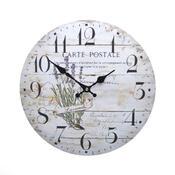 Nástěnné hodiny Levandule HLC11047