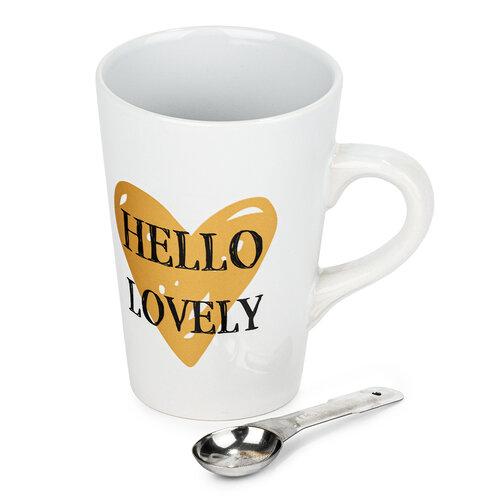 Keramický hrnček Hello Lovely 450 ml