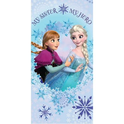 Osuška Frozen Sisters, 75 x 150 cm