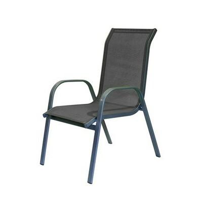 Happy Green Zahradní židle antracitová