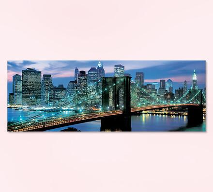 Puzzle Brooklynský most, vícebarevná