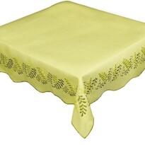 Obrus Liście żółty, 85 x 85 cm
