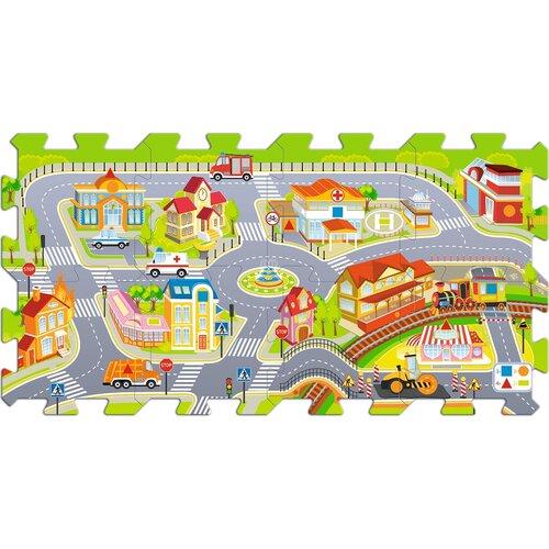 Trefl Penové puzzle Mesto, 8 dielikov