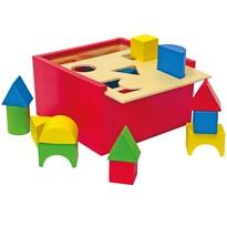 Woody Drewniane pudełko wkładanka, małe