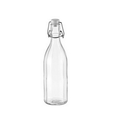 Tescoma Sklenená fľaša s clip uzáverom DELLA CASA , 0,5 l