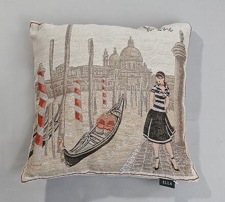 Gobelínový povlak Venezia, 43 x 43 cm