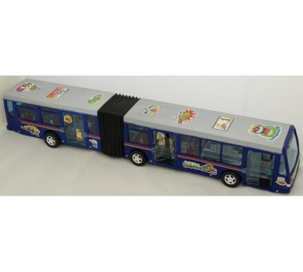 Autobus, modrá