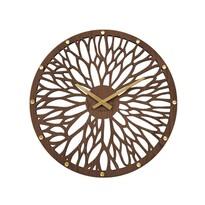 Lavvu LCT1180 Nástenné drevené hodiny Wood, 49 cm