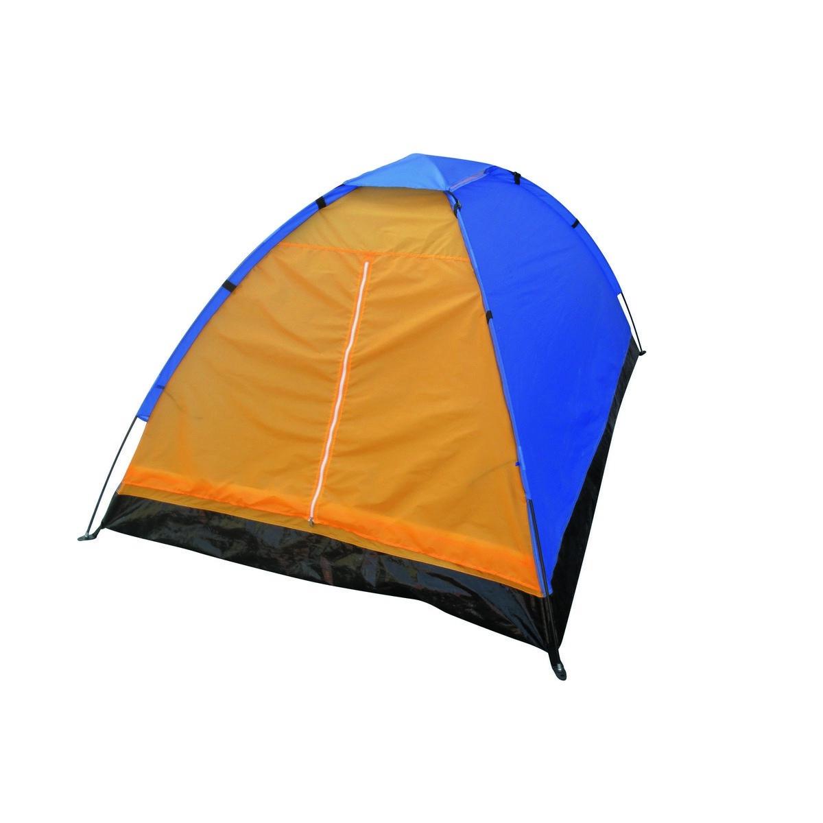 Nawalla Jednoplášťový stan pre 2 osoby oranžová, 210 x 150 x 110 cm