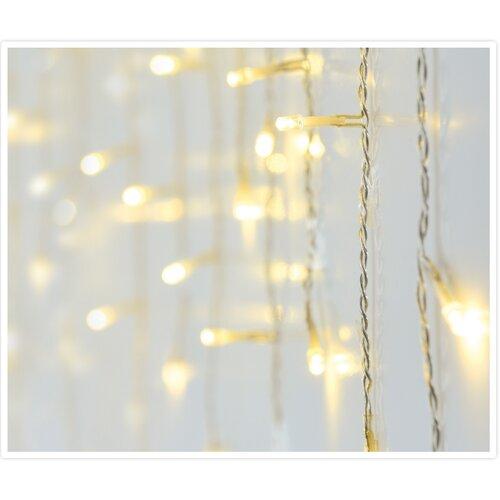 Icicle karácsonyi fényfüzér memóriafunkcióval, 360 LED