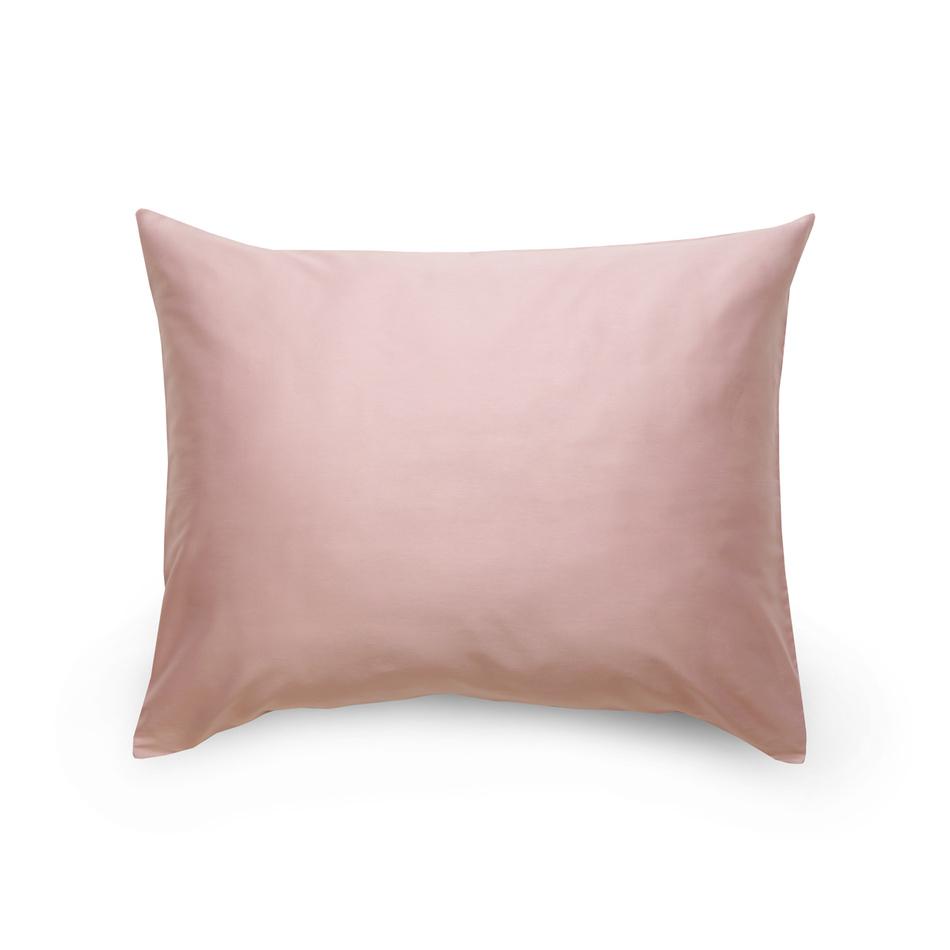 Kvalitex Obliečka na vankúš satén svetlo fialová / biela, 70 x 90 cm