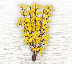 Plantă artificială ploaie de aur 5 buc