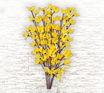 Umělá květina Zlatý déšť 5 ks