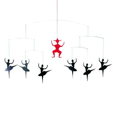 Kinet Hans Chr. Andersen's Ballet 38 cm, červený