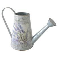 Lavender fém teáskanna, 16 x 22 cm