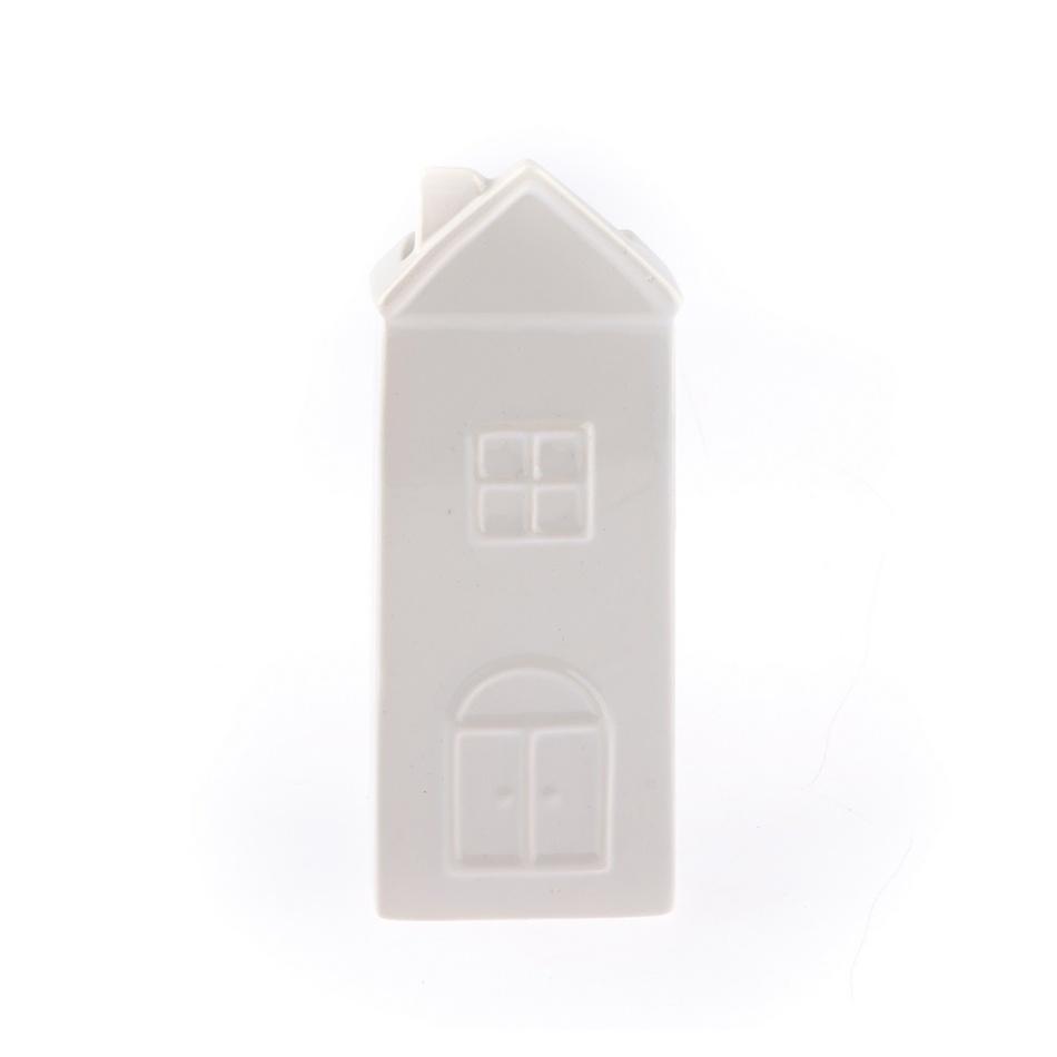 Keramický zvlhčovač vzduchu Domek, bílá