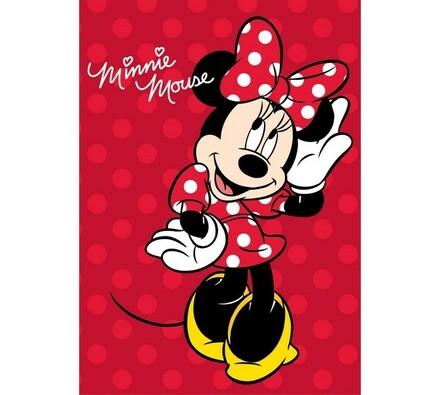 Dětská deka Minnie Mouse, 100 x 140 cm