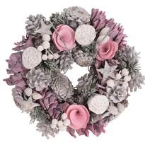 Arnado karácsonyi koszorú, átmérő: 24 cm