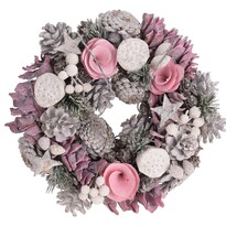 Coroniță de Crăciun Arnado, diam. 24 cm