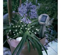Solární LED světelný řetěz 24 světel