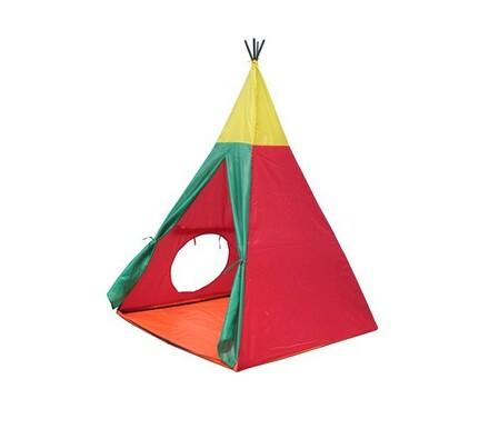 Dětský stan, Indian I, červená, 100 x 100 x 135 cm