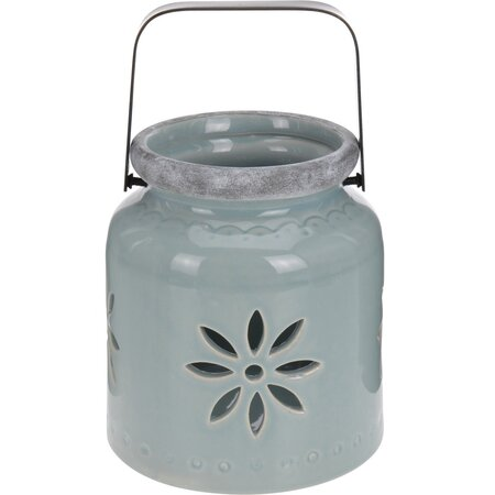 Porcelánová lucerna Fabara,zelená