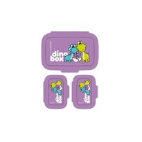 Tescoma Dino egészséges uzsonna doboz, 3db, lila