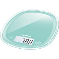 Sencor SKS 31GR kuchyňská váha, tyrkysová