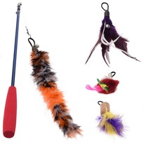 Komplet zabawek dla kotów Cats collection, 4 szt.