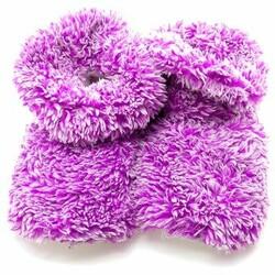 Voňavé nahřívatelné papuče, fialová