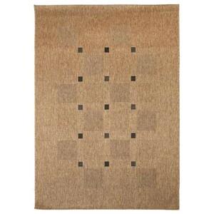 Spoltex Kusový koberec Floorlux coffee/black 20079, 60 x 110 cm