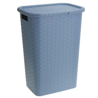 Koš na prádlo 60 l, modrá