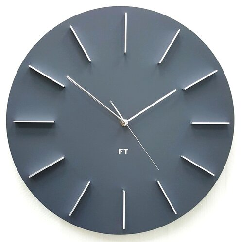 Future Time FT2010GY Round grey Designové