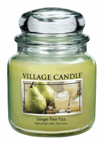 Village Candle Vonná svíčka Hruškový fizz se zázvorem, 397 g