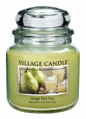 Village Candle Vonná svíčka Hruškovýfizz se zázvorem, 397 g