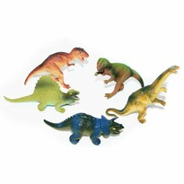 Dinoszaurusz készlet zacskóban, 5 db-os