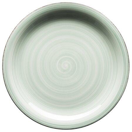 Mäser Keramický mělký talíř Bel Tempo 27 cm, zelená