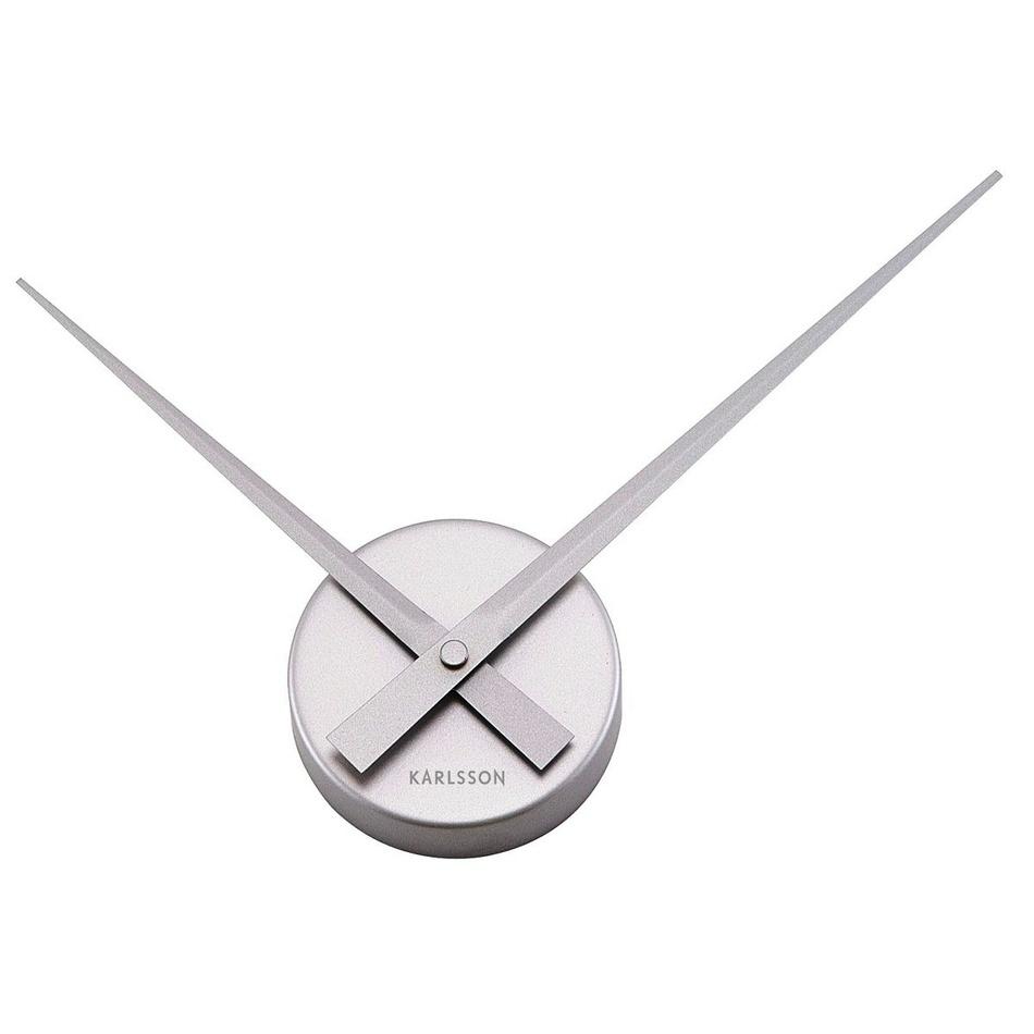 Karlsson 4348SI zegar ścienny