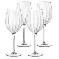 Set de pahare vin Bormioli Rocco, 4 piese Incontri, 430 ml