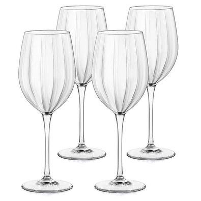 Bormioli Rocco 4dílná sada sklenic na víno Incontri, 430 ml