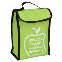Lunch break hűtőtáska, zöld, 24 x 18,5x 10 cm