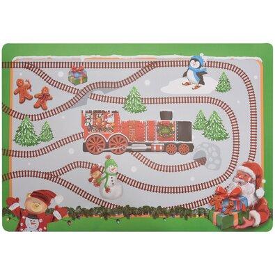 Dětské vánoční prostírání zelená, 45 x 65 cm
