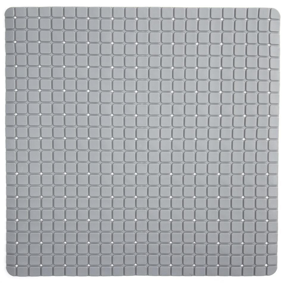 Koopman Protiskluzová podložka do koupelny šedá, 55 x 55 cm