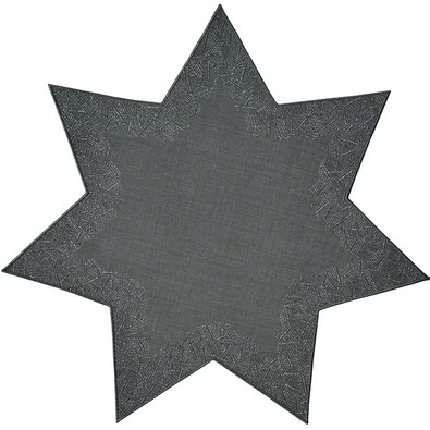 Sander Serwetka Illusion gwiazda kremowy, śr. 28 cm