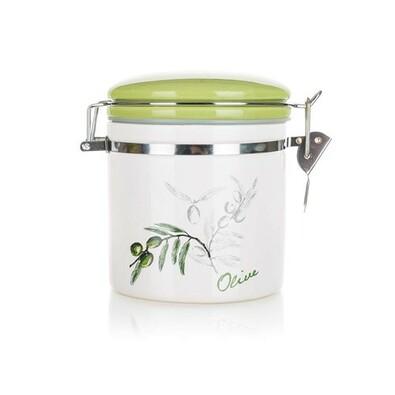 Banquet Dóza keramická Olives 450 ml
