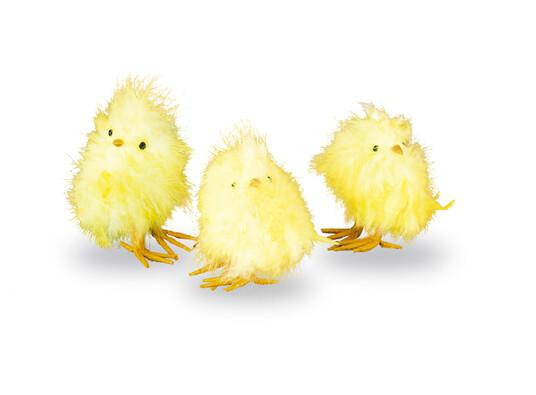 Kuřátka, sada 3 ks