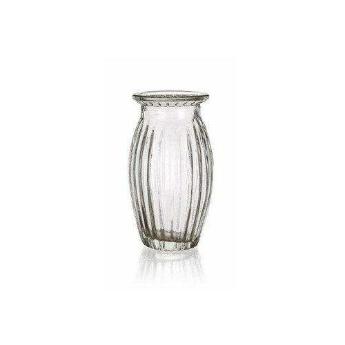 Vază sticlă Banquet Crasty, transparentă, 11,5 cm