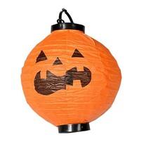 Lampion Halloween s LED světly, pr. 20 cm