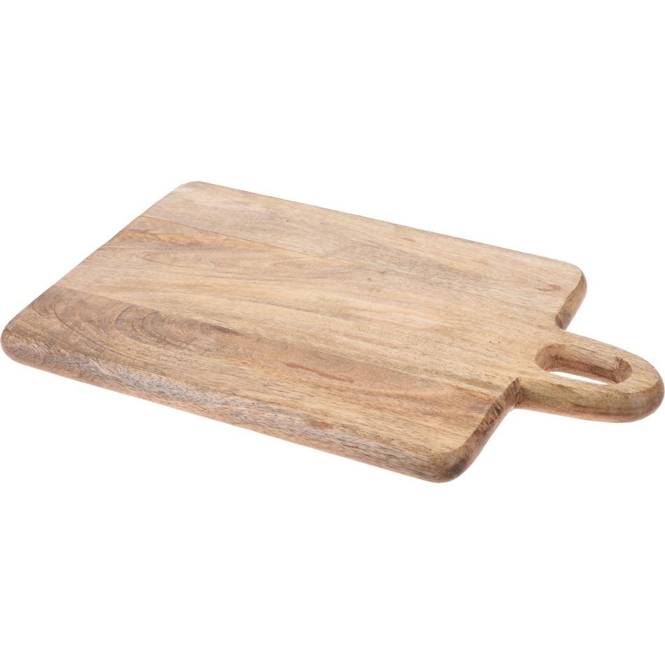 Doštička z mangového dreva 39 x 25 x 2,2 cm