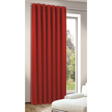 Zatemňovací závěs Tina červená, 245 x 140 cm